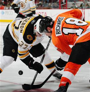 Flyers vs. Bruins